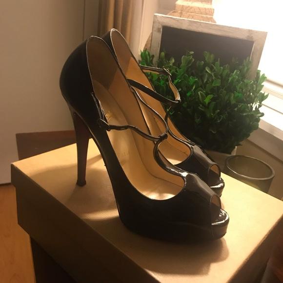 34aac159701 Christian Louboutin Burlina 120 Heels!👠